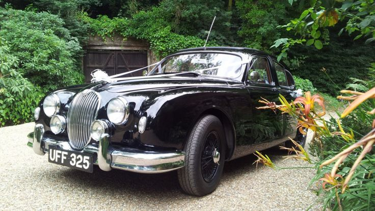 TV Famous, Mk 2 Jaguar was the actual car used in Endeavour TV Series. You can now book this TV famous vehicle for your wedding in South East UK. #sussex #kent #hampshire #surrey #jaguar #endeavour #tvfamous