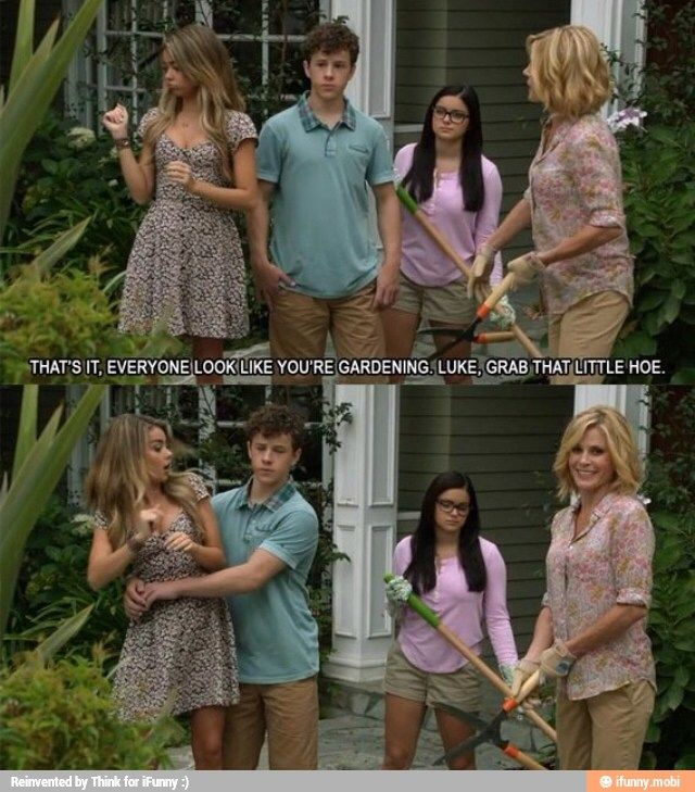 Modern Family Little hoe/ iFunny :) - I laughed loudly when I saw this scene.