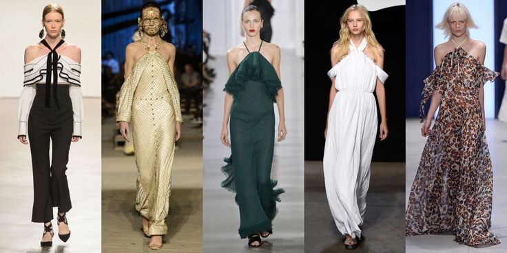 A COMPREHENSIVE GUIDE TO SPRING 2016 FASHION TRENDS Consider it a new riff on the off-the shoulder top we saw all last spring. Spotted at Proenza Schouler, Givenchy, Jason Wu, ADEAM, and Derek Lam, this silhouette was top among major designers.