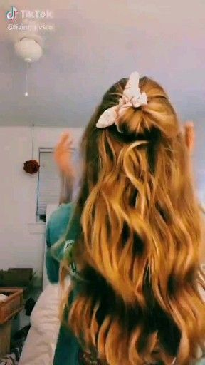 #tiktok #hair #vsco #vscocam #vscogirl #hairstyle #summer #happy