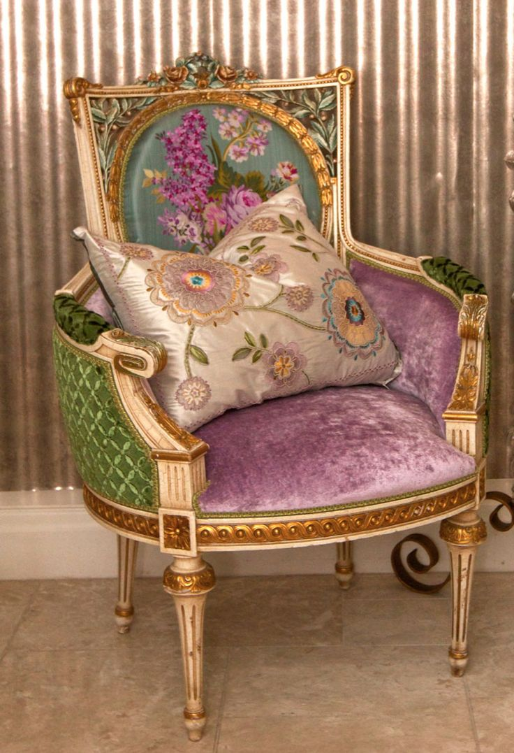 Antique chairs design - French Chair Carnival Interiors
