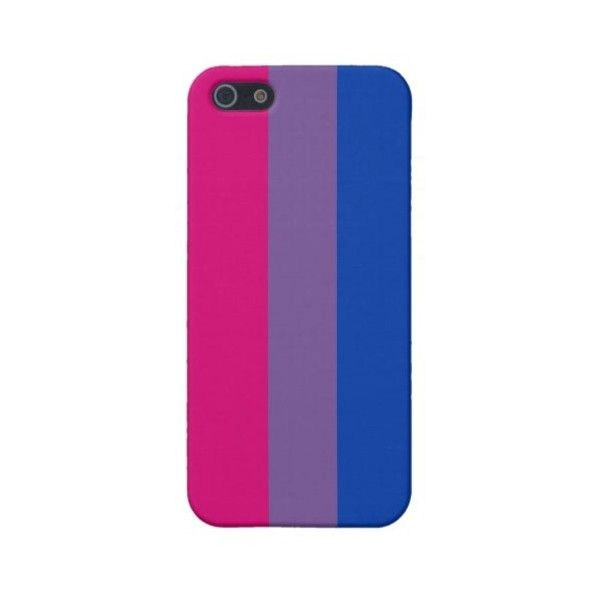 Bisexual Pride iPhone 5 Case (2,165 INR) ❤ liked on Polyvore featuring accessories, tech accessories, phone cases, electronics and phone