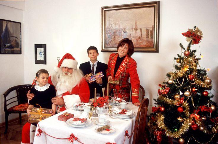 At the Christmas Eve table, photo: Michał Jankowski / Forum