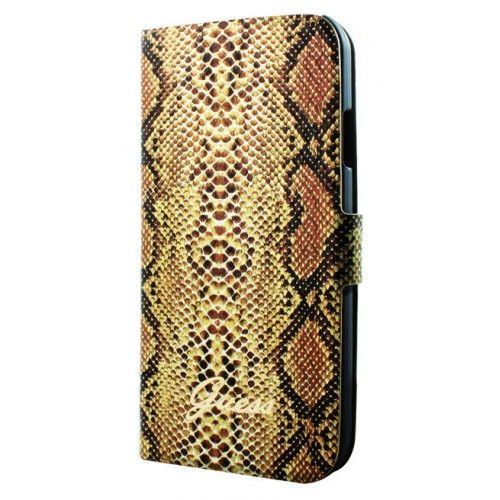 Le python ou le serpent une housse Guess très tendance par sa couleur et son look . Pour votre smartphone Samsung galaxy s4.