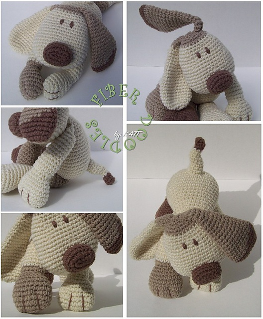 Possibly the cutest crochet puppy pattern ever