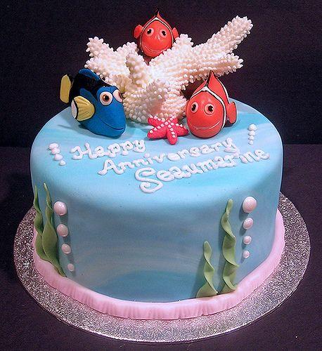 Nemo Cake: Finding Nemo And Sammy The Sea