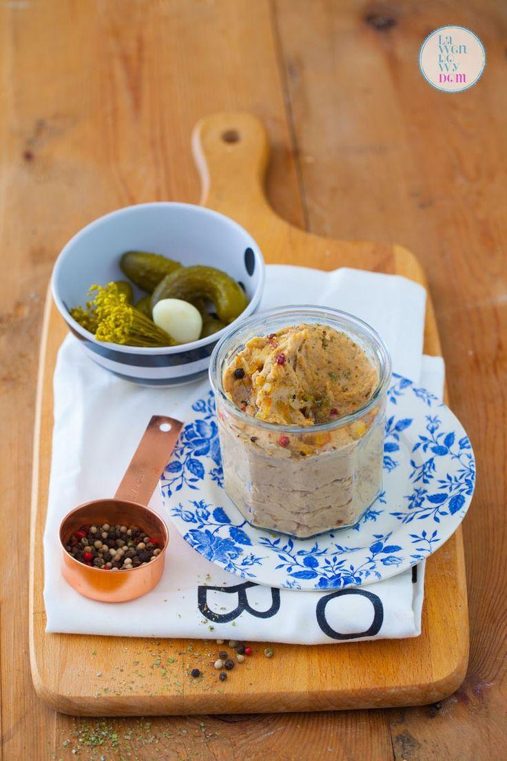 Pyszna wegańska pasta z fasoli – smalec z fasoli - Lawendowy DomLawendowy Dom