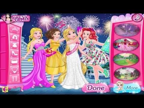 Disney Princess Bridal Shower - Princess Rapunzel Ariel Belle and Aurora Dress Up Game - http://www.wedding.positivelifemagazine.com/disney-princess-bridal-shower-princess-rapunzel-ariel-belle-and-aurora-dress-up-game-2/ http://img.youtube.com/vi/mj6g61i4p-I/0.jpg %HTAGS
