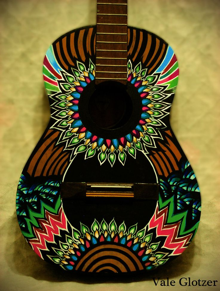 Guitar art    www.flickr.com/siberianita                                                                                                                                                     Más