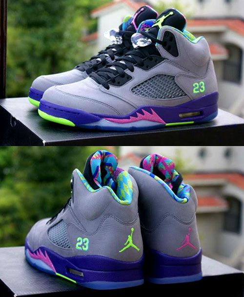 "Gettin jiggy with the New Air Jordan 5 ""Fresh Prince of Bel-Air""."