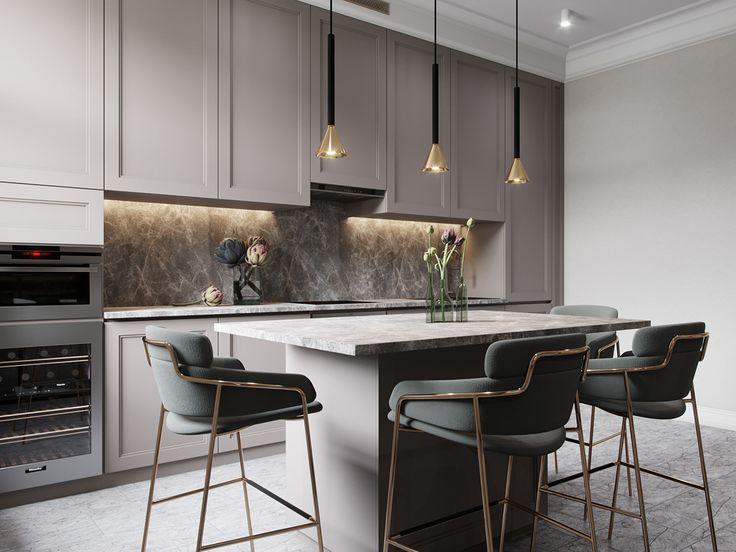 Plytki W Kuchni Najpiekniejsze Propozycje Na Sciane Nad Blatem I Podloge Contemporary Kitchen Design Kitchen Room Design Modern Kitchen Design