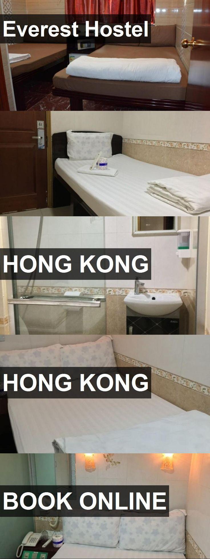 Everest Hostel in Hong Kong, Hong Kong. For more information, photos, reviews and best prices please follow the link. #HongKong #HongKong #travel #vacation #hostel