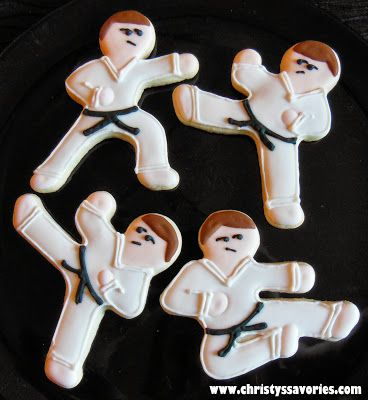 Christy's Savories: Karate Cookies