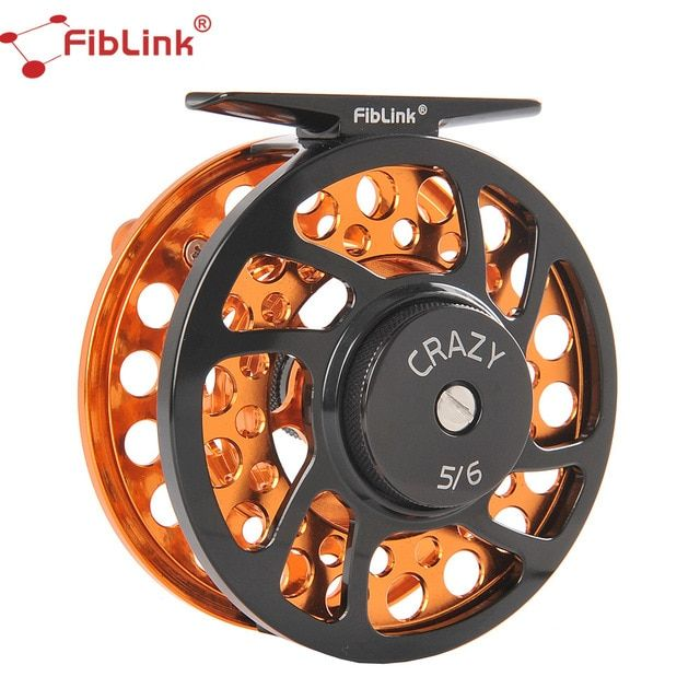 Fiblink 5 6 7 8 9 10wt Fly Fishing Reels Cnc Machined Aluminum Alloy Body And Spool Fly Reel With Large Arbor 2 1 Bb Fishing Reels Fly Reels Fly Fishing Reels