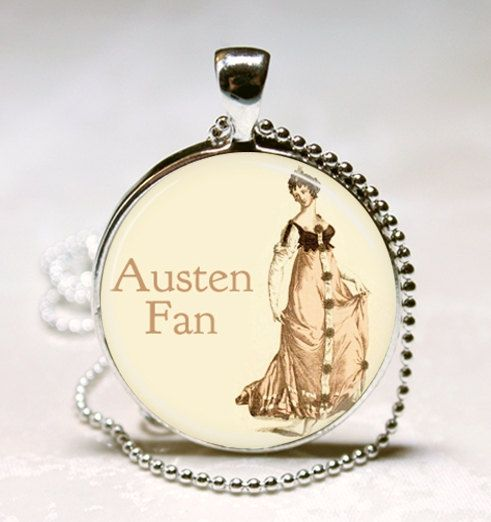 Jane Austen Necklace
