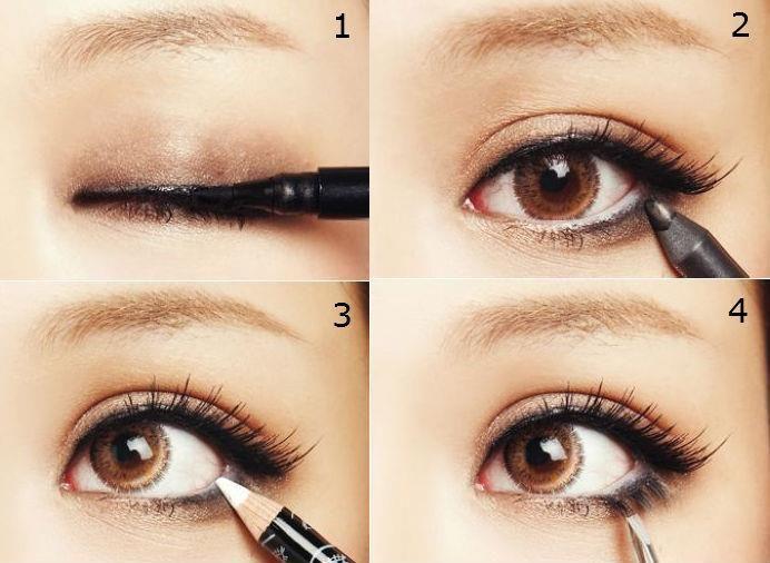 Göz kapaklarınızın üstüne eyeliner sürmek hem bakışlarınıza derinlik katar, hem de kirpiklerinizin daha uzun ve gür görünmesini saðlar. Düzgün eyeliner çekebilmek mükemmel sonuçlar doğuran bir beceridir ve becerinin sırrı eyelineri ince çekmektir. Titremesiz bir sürüş için dirseğinizi sert bir düzeye dayayarak kolunuzu destekleyin. Eyelinerı kirpik çizgisine, dış uçtan başlayarak uygulayın. Daha yumuşak bir görünüm için bu çizgiyi yayın.  #cosmetic #beauty #beautyfull #kozmetik  #eye