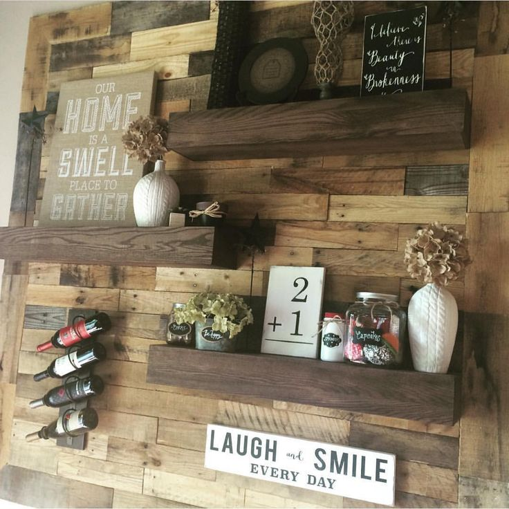 Oh my wow.  We are L❤️VING this version of our floating shelves by @ellerydesigns !  Y'all nailed it!  #shanty2chic #wehavethebestreaders #happybuilding