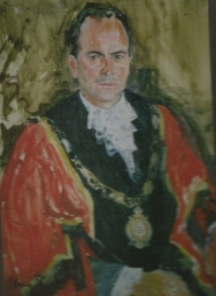 Mary Fowlds Portrait of Mayor