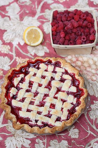 Best Ever Raspberry Pie