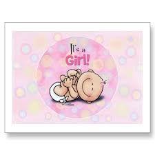 Resultado de imagen para postal de nacimiento de bebe