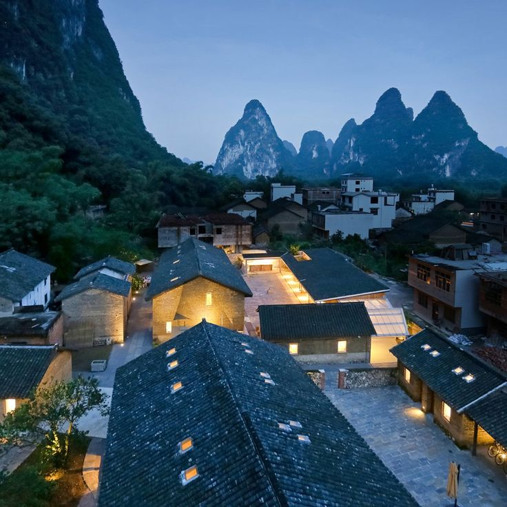 Ares Partners has converted a group of disused farm buildings into a boutique resort nestled among the rocky pinnacles of China's Yangshuo County