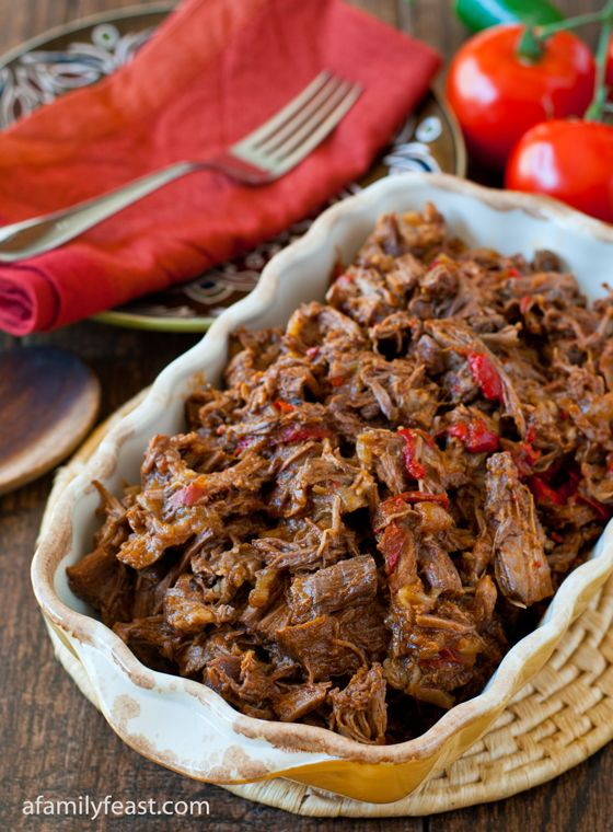Machaca (Mexican Shredded Beef). alternate here: http://www.food.com/recipe/machaca-authentic-mexican-shredded-beef-120062 or here: http://www.food.com/recipe/beef-machaca-85108