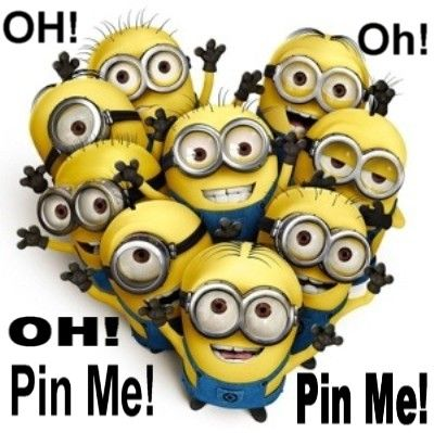 Minions, Oh, Pin me! 。◕‿◕。 See my Despicable Me Minions pins https://www.pinterest.com/search/my_pins/?q=minions