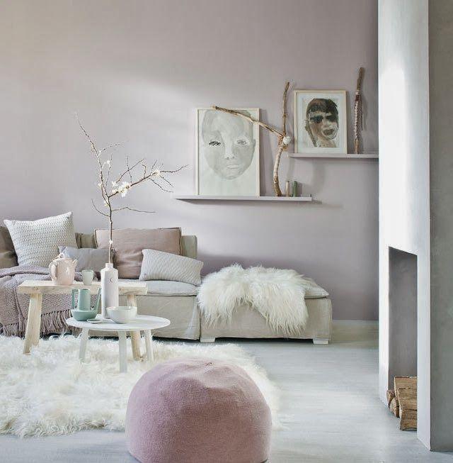 Pastel tinten in je woonkamer