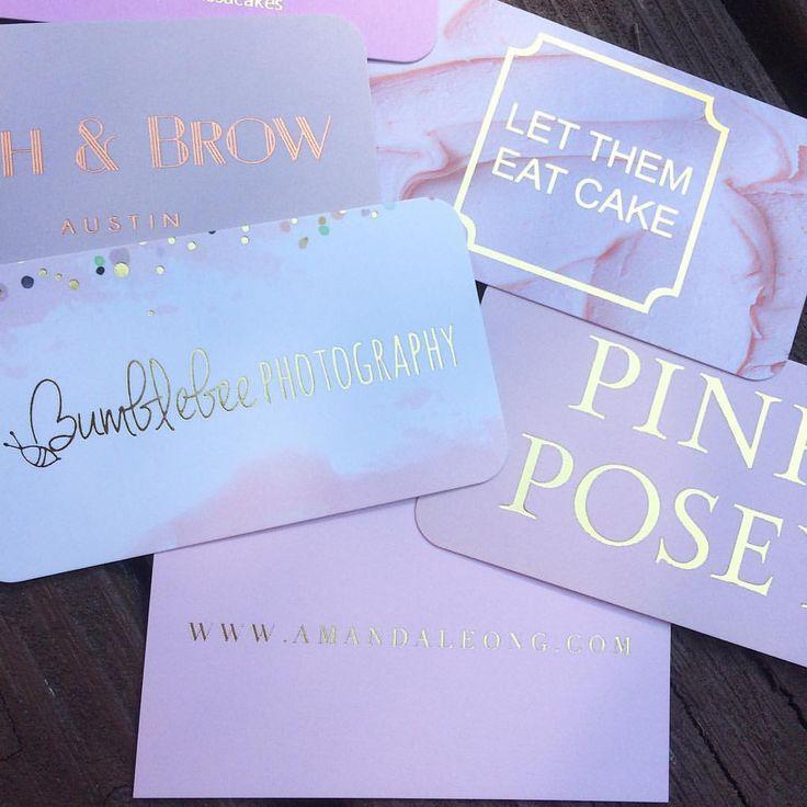 410 best Gold Foil Business Cards images on Pinterest | Gold foil ...