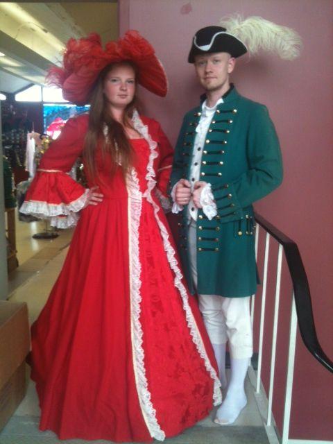 1700s couple