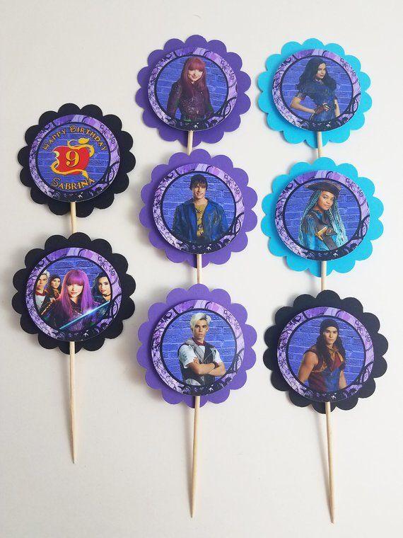 disney's descendants cupcakes - 570×760