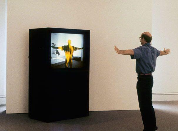 Jim Campbell: Portfolio: Installations: Hallucination