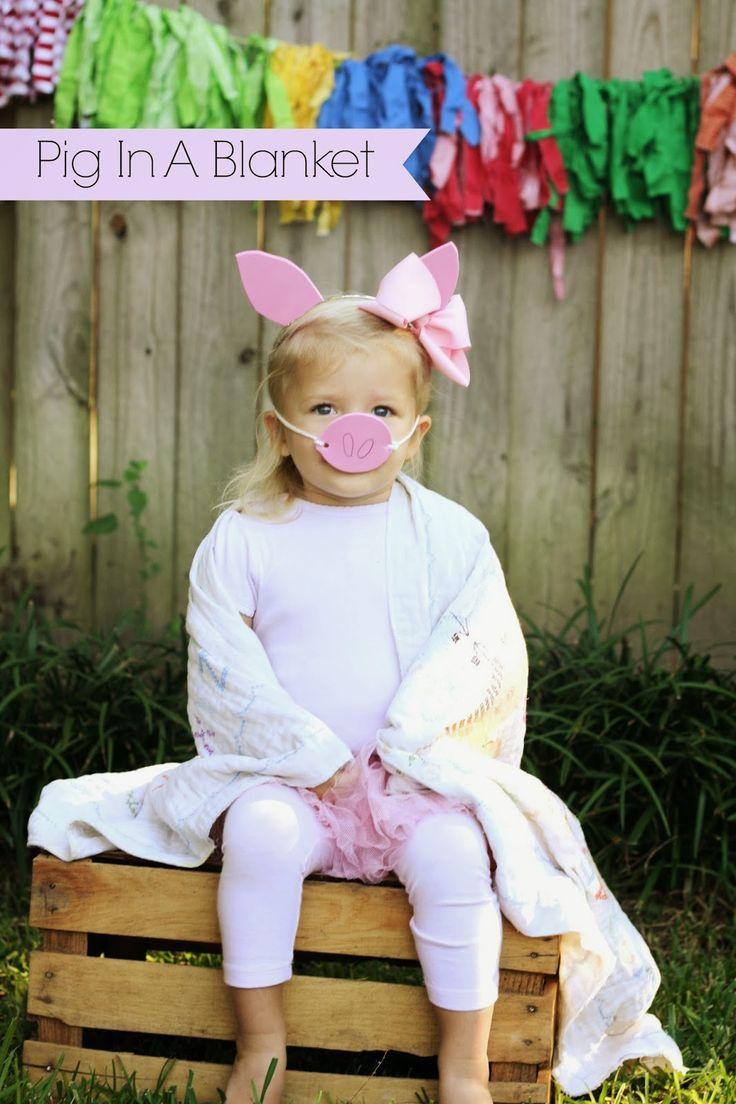 The 25 best kids pig costume ideas on pinterest peppa halloween diy easy pig in a blanket halloween costume solutioingenieria Images