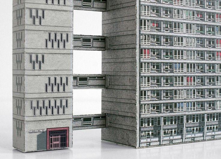 Ünlü brütalist binaların karton modelleri İkinci Dünya Savaşı sonrası brütalist mimari örneklerini modelleyen kitaplar, hazır baskılı kartonlarla mimari koleksiyon yapma olanağı sunuyor. Zupagrafika, Polonya'da bulunan, bağımsız bir yayınevi ve yaratıcı bir tasarım stüdyosu.   #Kentler #Mimari #Mimarlık #Yapı #Kitap #Maket