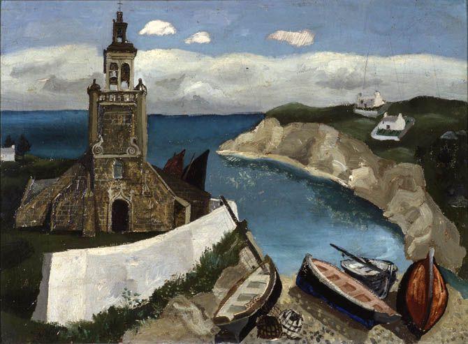 Tréboul (1930) by Christopher Wood