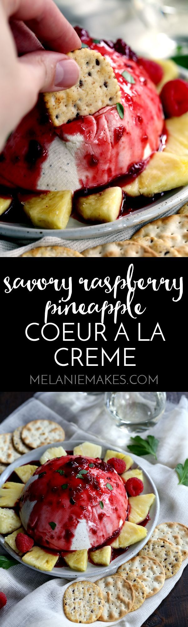 ... Coeur a la Creme | Recipe | Pineapple sauce, Red peppers and Cream
