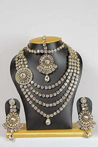 Indian Bollywood Gold Plated Kundan Bridal Dazzling Women... https://www.amazon.ca/dp/B06XBY1HB5/ref=cm_sw_r_pi_dp_x_m4H1yb6V8KGPV