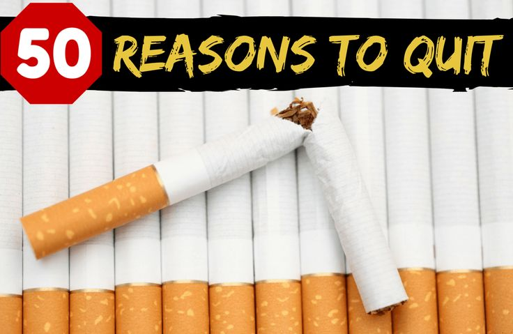 Need some quitting inspiration? Read on for 50 good reasons to stop smoking, for your health, confidence, family, finances and beyond.