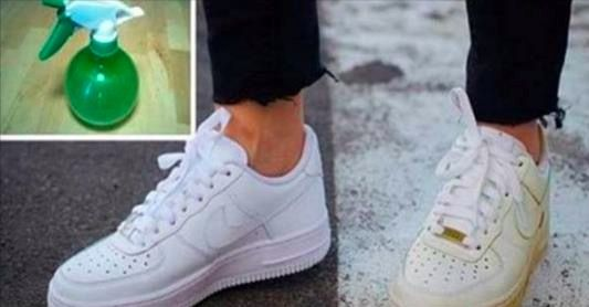 SIMPLE TRICK TO CLEAN YOUR DIRTY WHITE SHOES AND MAKE THEM WHITE AGAIN – Tomato Hero