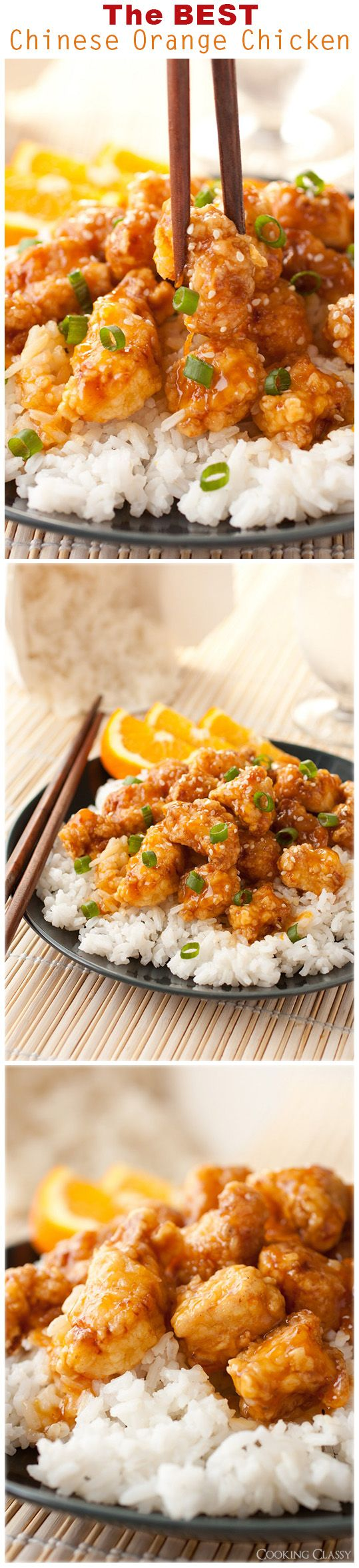 {Asia} Chinese Orange Chicken - this is no doubt the BEST orange chicken I've ever had! It has gotten rave reviews!