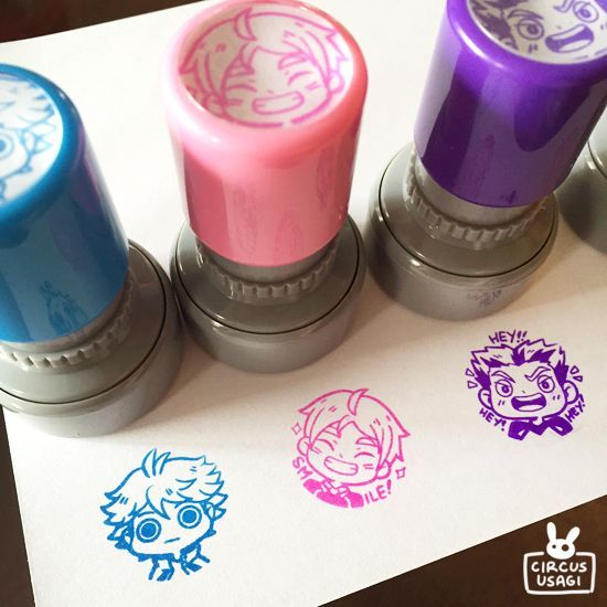 The product haikyuu!! stamps is sold by whiterabbitcafe in our Tictail store.  Tictail lets you create a beautiful online store for free - tictail.com