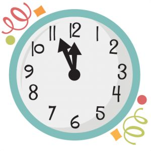 new years clock svg scrapbook title new years svg cut files balloons svg cuts freebies scrapbook clip art cutting files