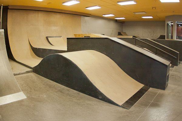 indoor skateboard parks - Google Search