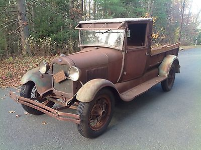 Ford :  Pickups Express 1928 Ford Model Aa Express Barn Find Patina - http://www.usabarnfinds.com/archives/245