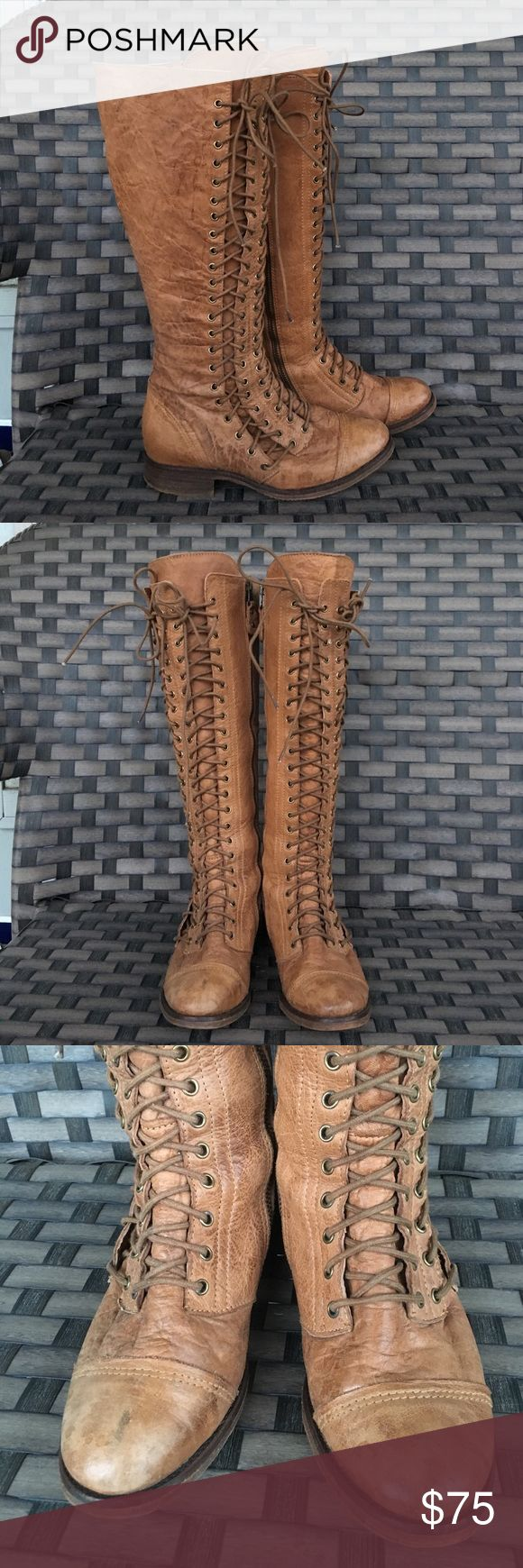 Matisse tall lace up boots 36 Some minor marks see pic otherwise great preowned condition Free People Shoes Heeled Boots