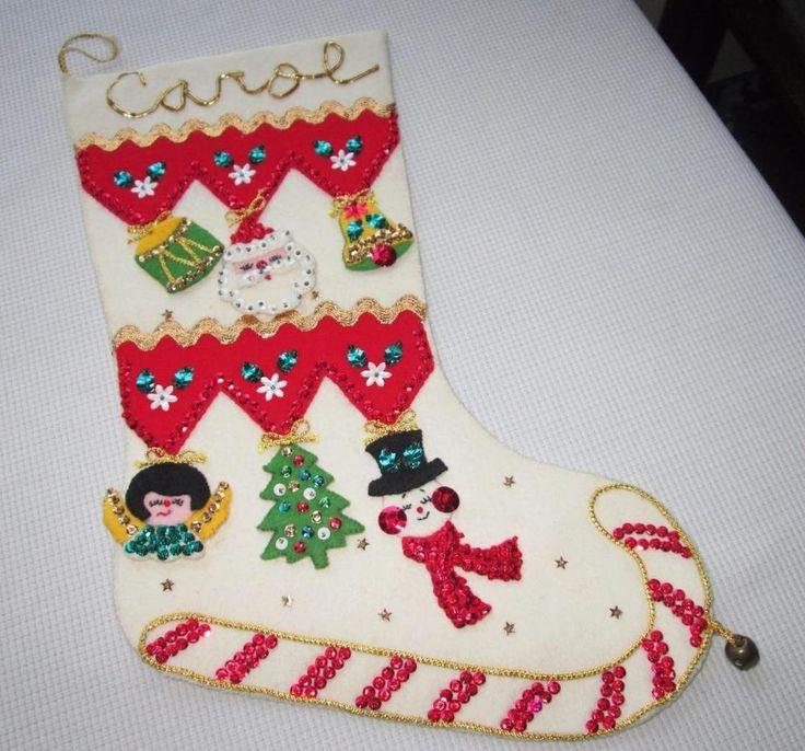 282 best felt Christmas crap images on Pinterest | Christmas decor ...
