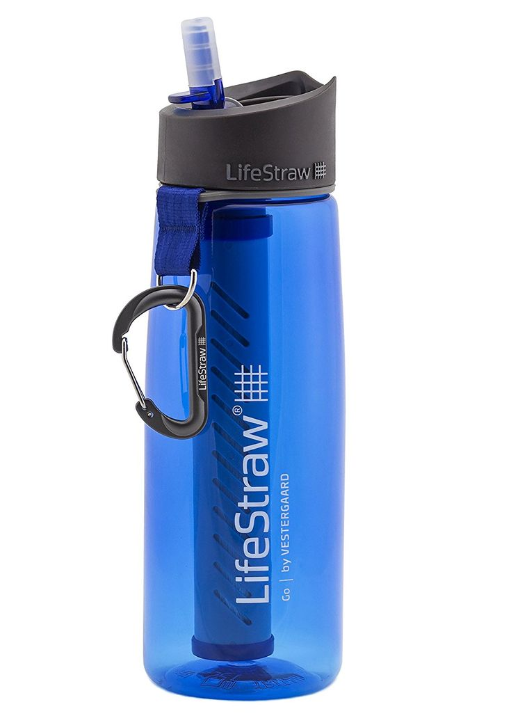LifeStraw Go Water Bottle with Integrated 1,000 Liter LifeStraw Filter - 11 Top Gifts for Hikers and Backpackers