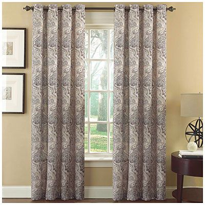Delightful Ellery Homestyles Grommet Printed Room Darkening Panel Pairs | Big Lots