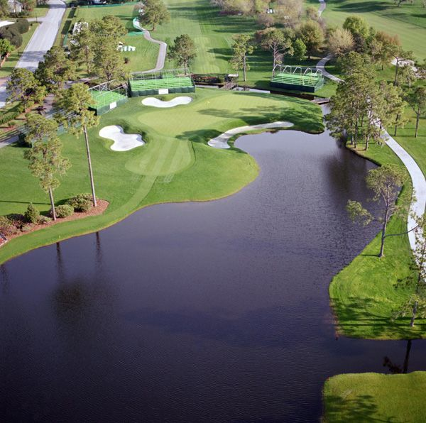 Amazing view of Bay Hill Golf Club