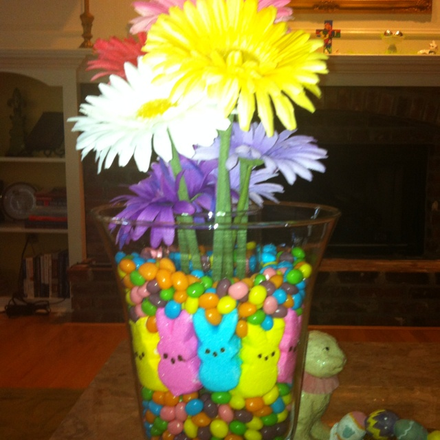 Easter centerpiece ideas pinterest jars the